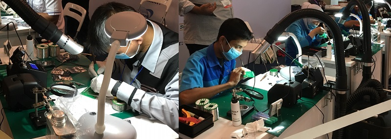 IPC Hand Soldering Competition